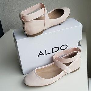 NIB blush pink ballet flats
